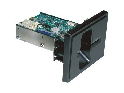 Uniform Solution Hybrid Reader Full Insert, Serial I F, M Bezel, Cable, No P S, Triple Track
