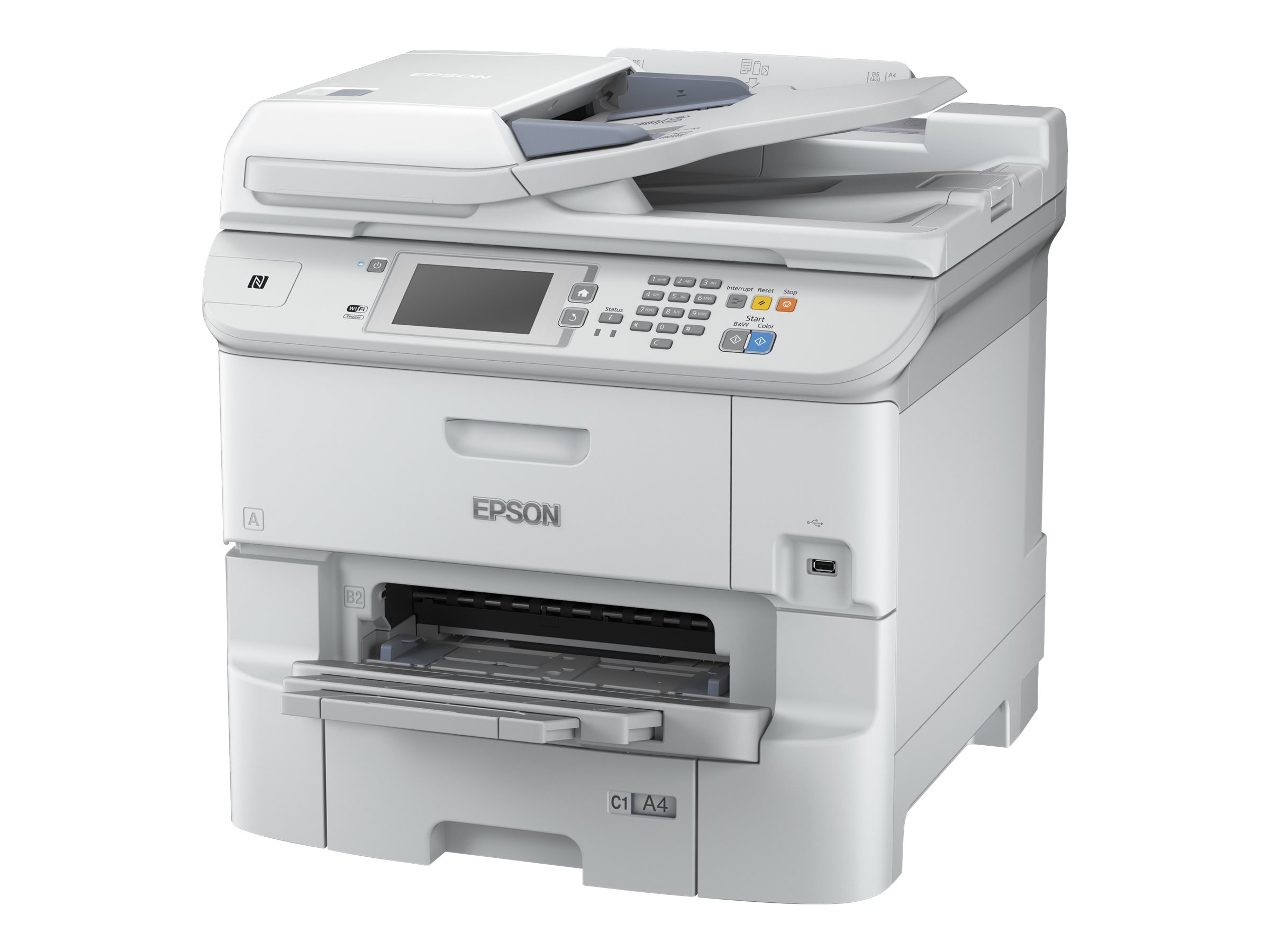 Epson WorkForce Pro WF-6590 Network Multifunction Color Printer, C11CD49201, 30846453, MultiFunction - Ink-Jet