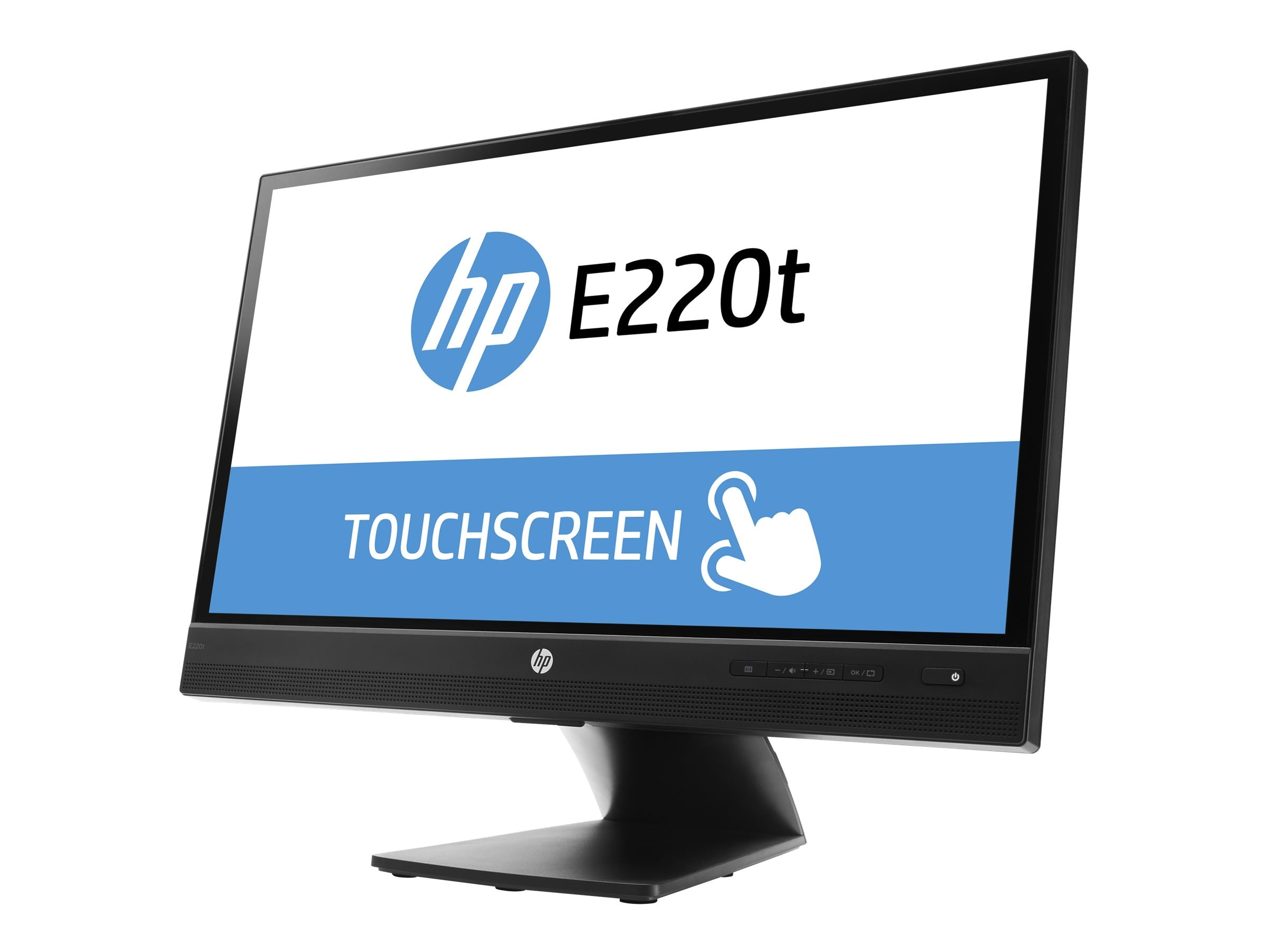 HP Promo 21.5 E220T Full HD LED-LCD Touchscreen Monitor, Black, L4Q76A8#ABA