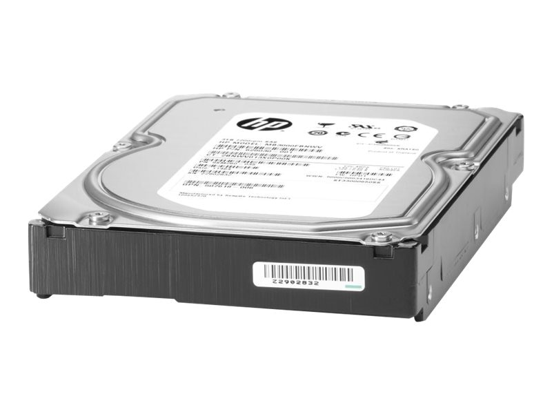 HPE 3TB SATA 6Gb s 7.2K rpm LFF 3.5 Non-Hot Plug Midline Hard Drive w  1-year Warranty