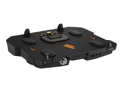 Havis Vehicle Docking Station with Triple Pass-Thru for Dell Latitude 12 14 Rugged, Includes PS