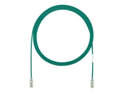 Panduit CAT6 UTP Copper Patch Cord, Green, 3ft