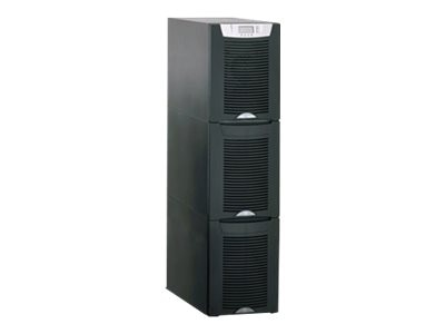 Eaton 9155 10kVA 9kW UPS 3-High (64) Battery Modules, Hardwired Input (2) L5-30R (2) L6-20R Outlets, K4101200HJXX000, 12256142, Battery Backup/UPS