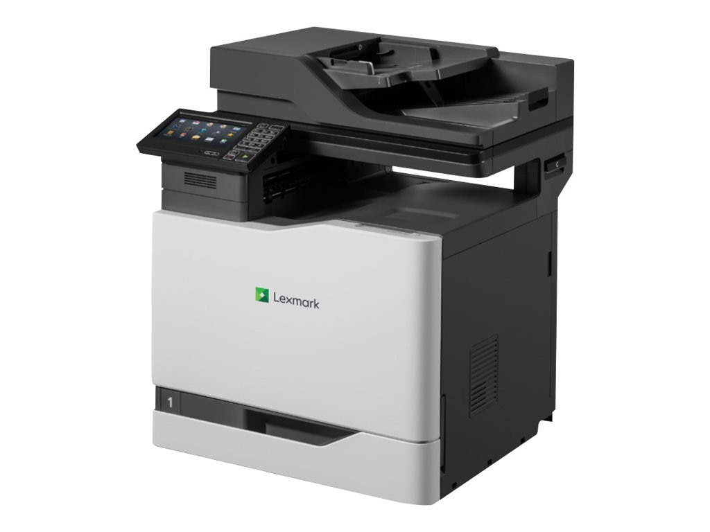 Lexmark CX820de Color MFP - HV w  CAC Enablement, 4-Year Onsite Repair & Air Force Code (TAA Compliant)