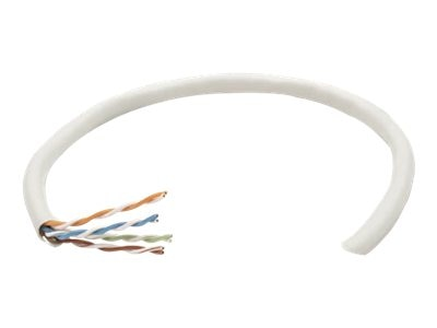 Intellinet Cat6 Bulk Cable, Solid, 23 AWG, Gray, 1000ft, 334136