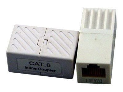Micro Connectors Cat6 RJ-45 In-Line Coupler (F-F), C20-110L6, 12435600, Cables
