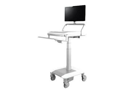 Humanscale T7 Non-Powered Mobile Cart, T75-N--3P15, 30880125, Computer Carts