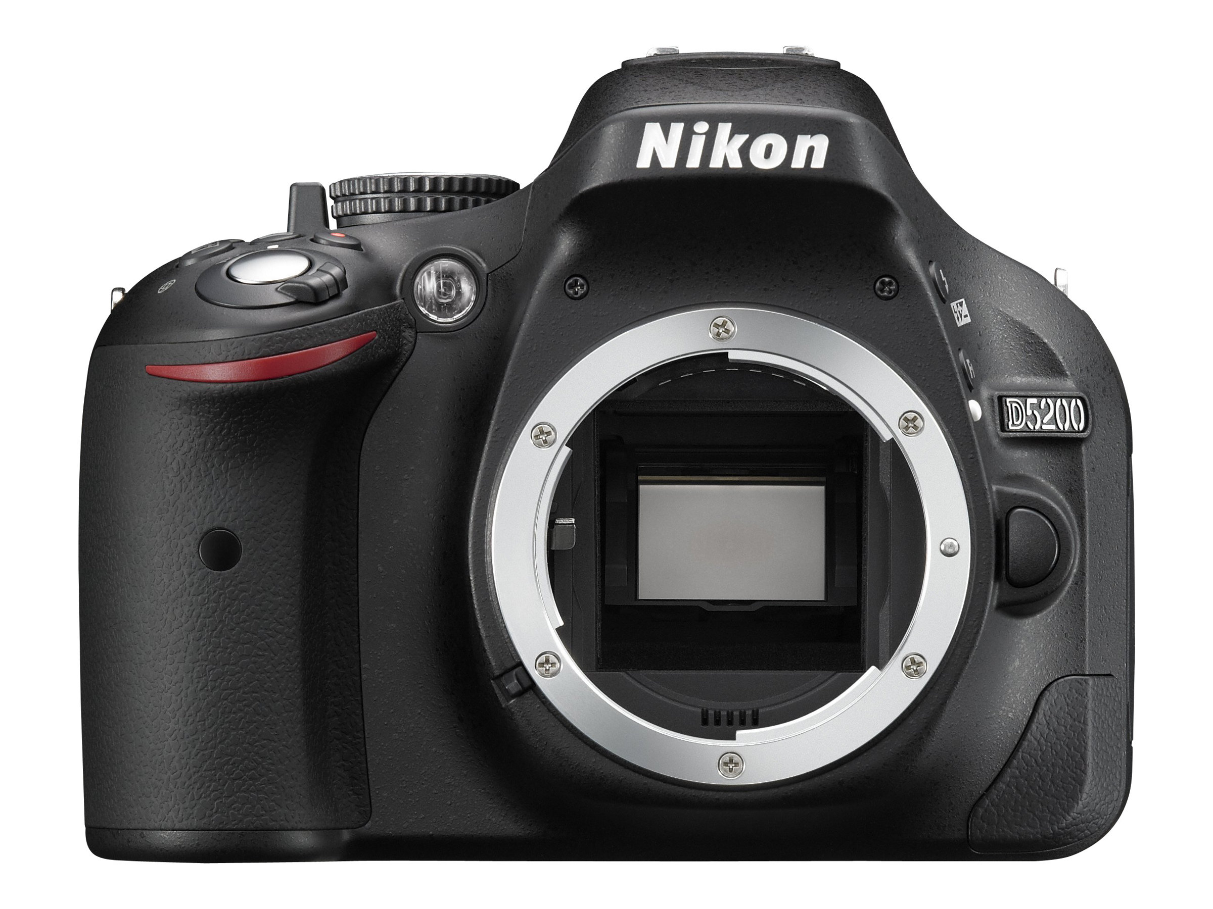 Nikon D5200 Digital SLR Camera, Black (Body Only), 1501, 15419031, Cameras - Digital - SLR
