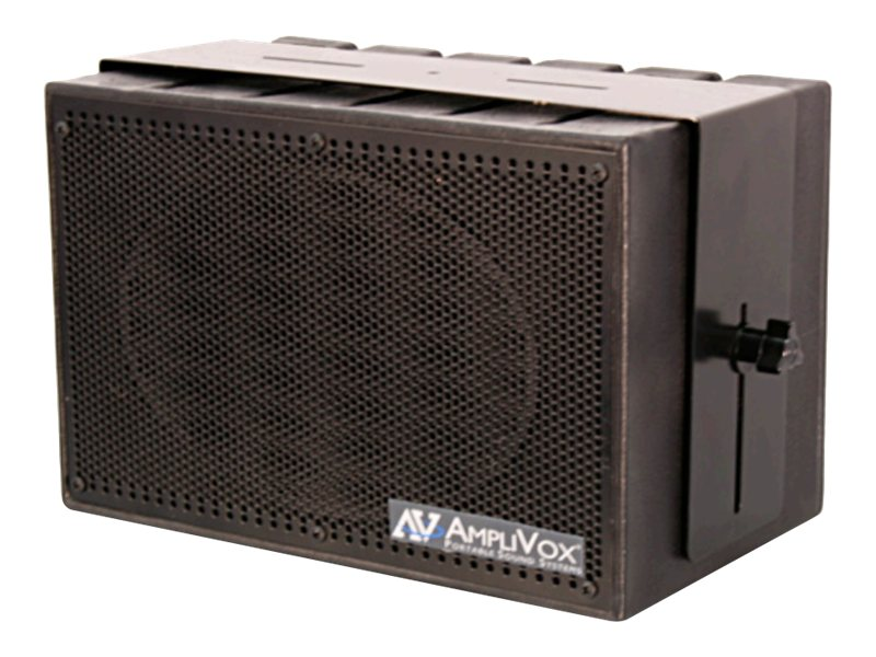 AmpliVox MITY-BOX 50-Watt Compact PA Speaker, S1230, 15464027, Music Hardware