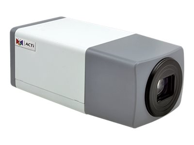 Acti 1.3MP Zoom Box with D N, Superior WDR, 10x Zoom lens, E223