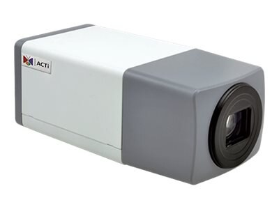 Acti 1.3MP Zoom Box with D N, Superior WDR, 10x Zoom lens