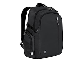 V7 Classic Elite Backpack 15.6 w  Trolley Strap, Padded Back Support, CCBPX1-9N, 32395596, Carrying Cases - Notebook