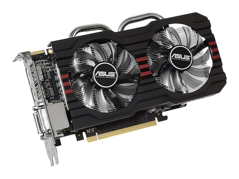 Asus Radeon R7 260X PCIe 3.0 Overclocked Graphics Card, 2GB GDDR5, R7260X-DC2OC-2GD5