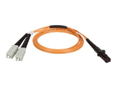 Tripp Lite Fiber Optic Patch Cable, MTRJ Sc, 62.5 125, Duplex Multimode, 6ft, N310-006, 235661, Cables