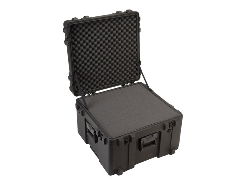 Samsonite 24 Military Standard Roto Case, 24 x 23 x 17, Cubed Foam, Wheels, 3R2423-17B-CW, 5678195, Carrying Cases - Other