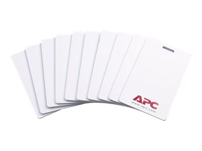 APC NetBotz HID Proximity Cards (10-Pack), AP9370-10, 7797307, Security Hardware