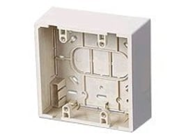 Leviton Surface MT Backbox Doublegang, 42777-2WA, 15604851, Phone Accessories