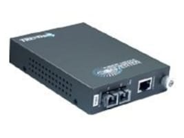 TRENDnet 1000BaseT to1000BaseLX Single-Mode Fiber Converter (20Km) with SC-Type Connector, TFC-1000S20, 6124645, Network Transceivers