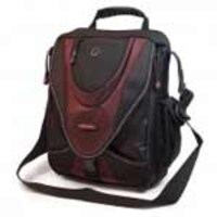 Mobile Edge Case, Mini Messenger, Black Red, Holds 13.3 Inch Notebook Screens, MEMMS7, 6938711, Carrying Cases - Notebook
