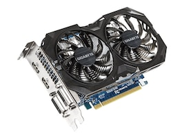 Gigabyte Tech GeForce GTX 750 Ti PCIe 3.0 Overclocked Graphics Card, 4GB GDDR5, GV-N75TWF2OC-4GI, 30598218, Graphics/Video Accelerators