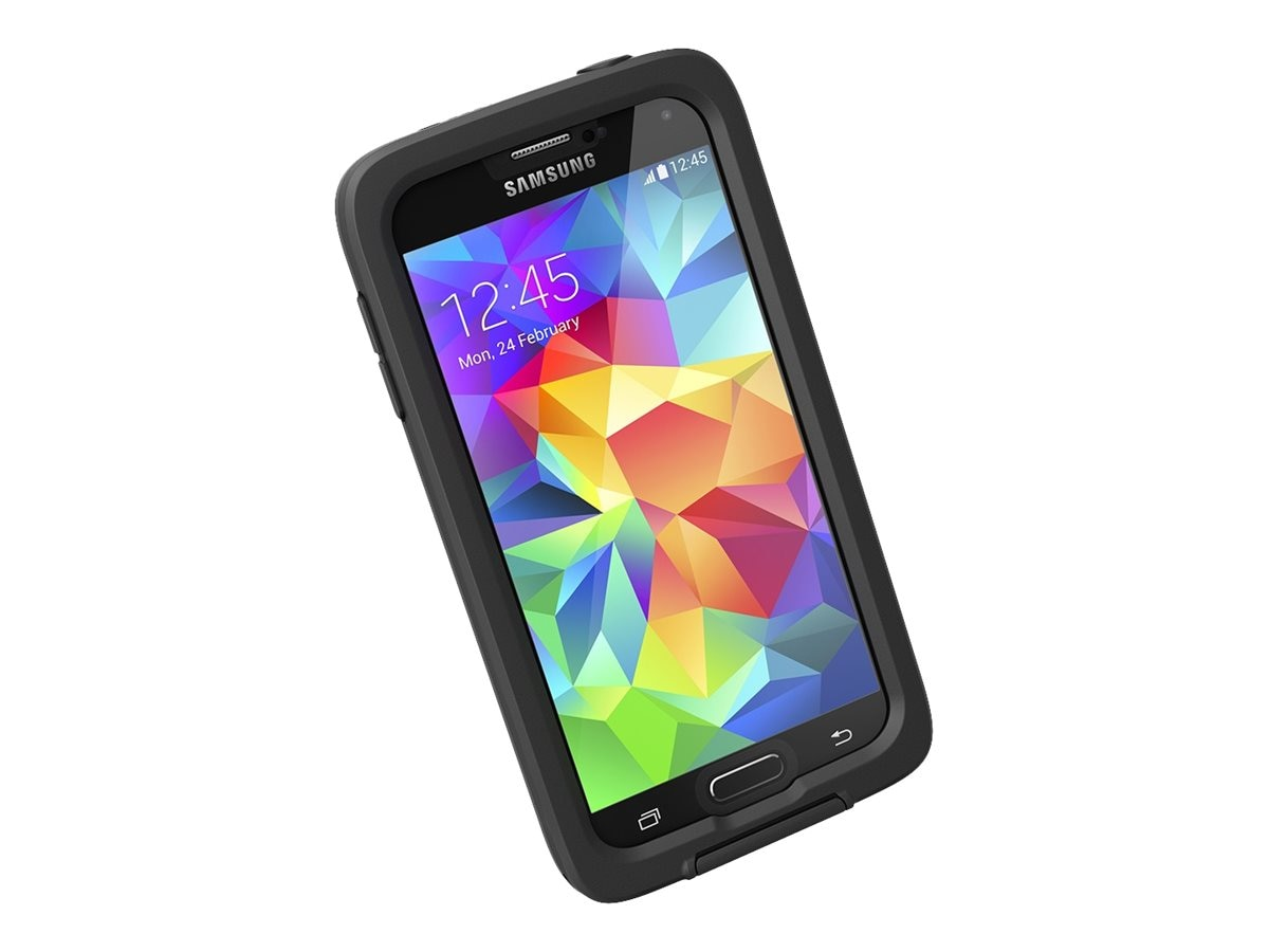 Lifeproof fre Case for Samsung Galaxy S5, Black Clear, 2401-01, 18621921, Carrying Cases - Phones/PDAs