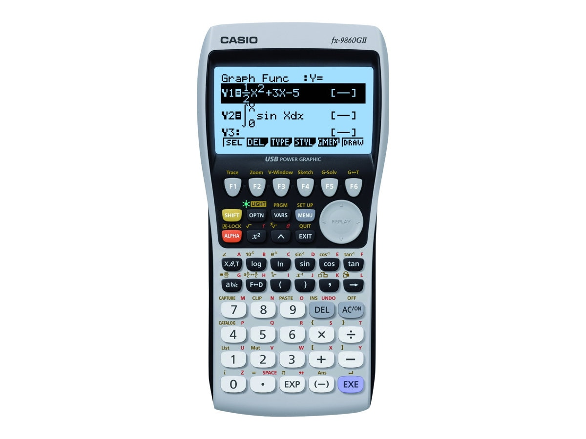 Casio Graphing Calculator - Pink, FX9860GII-PK