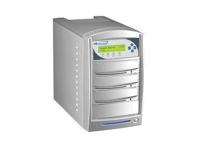 Vinpower SharkNet DVD CD USB 1:2 Network Tower Duplicator w  Hard Drive