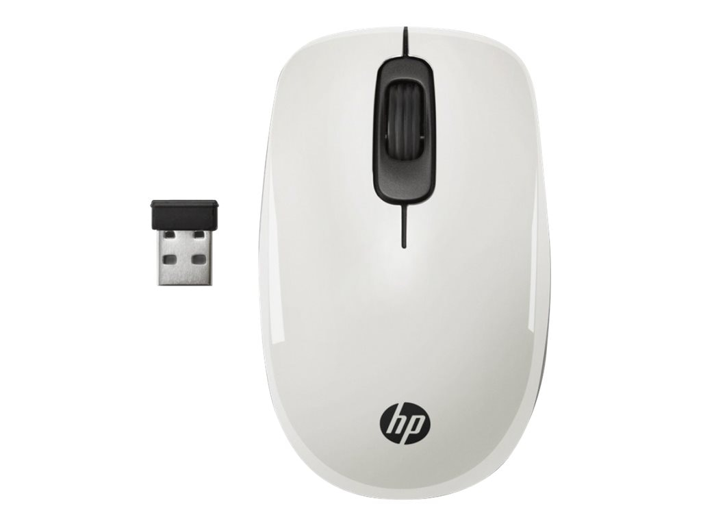 HP Z3600 Wireless Mouse, White, J1B55AA#ABA, 18477181, Mice & Cursor Control Devices
