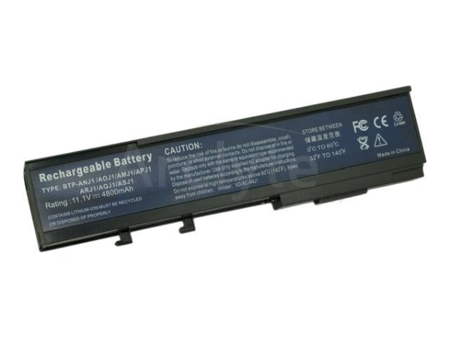 Arclyte Battery Performance-Lithium Li-Ion 11.1V 5200mAh 6-cell for Acer Aspire, TravelMate