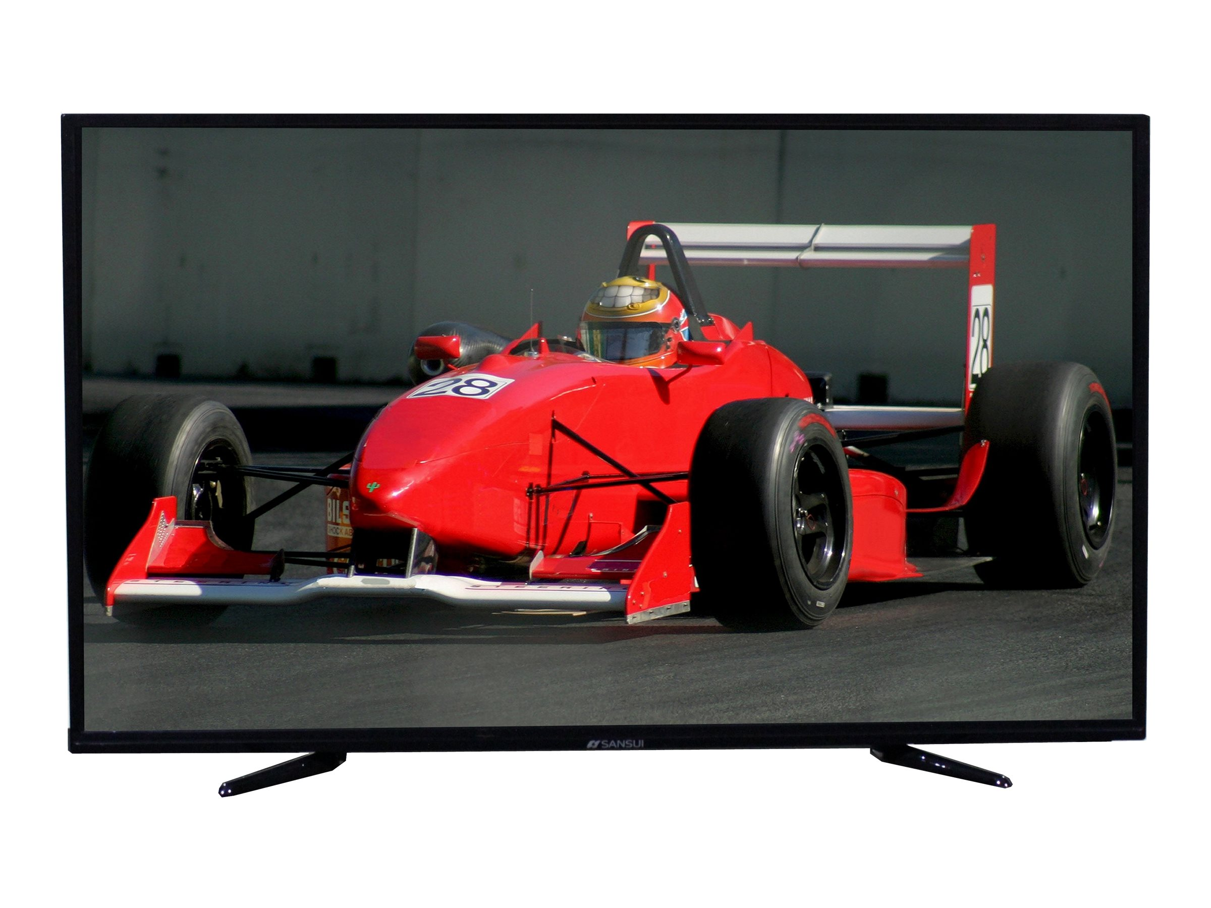 Sansui 42 SLED4216 4K Ultra HD LED-LCD TV, Black, SLED4216, 31951941, Televisions - LED-LCD Consumer