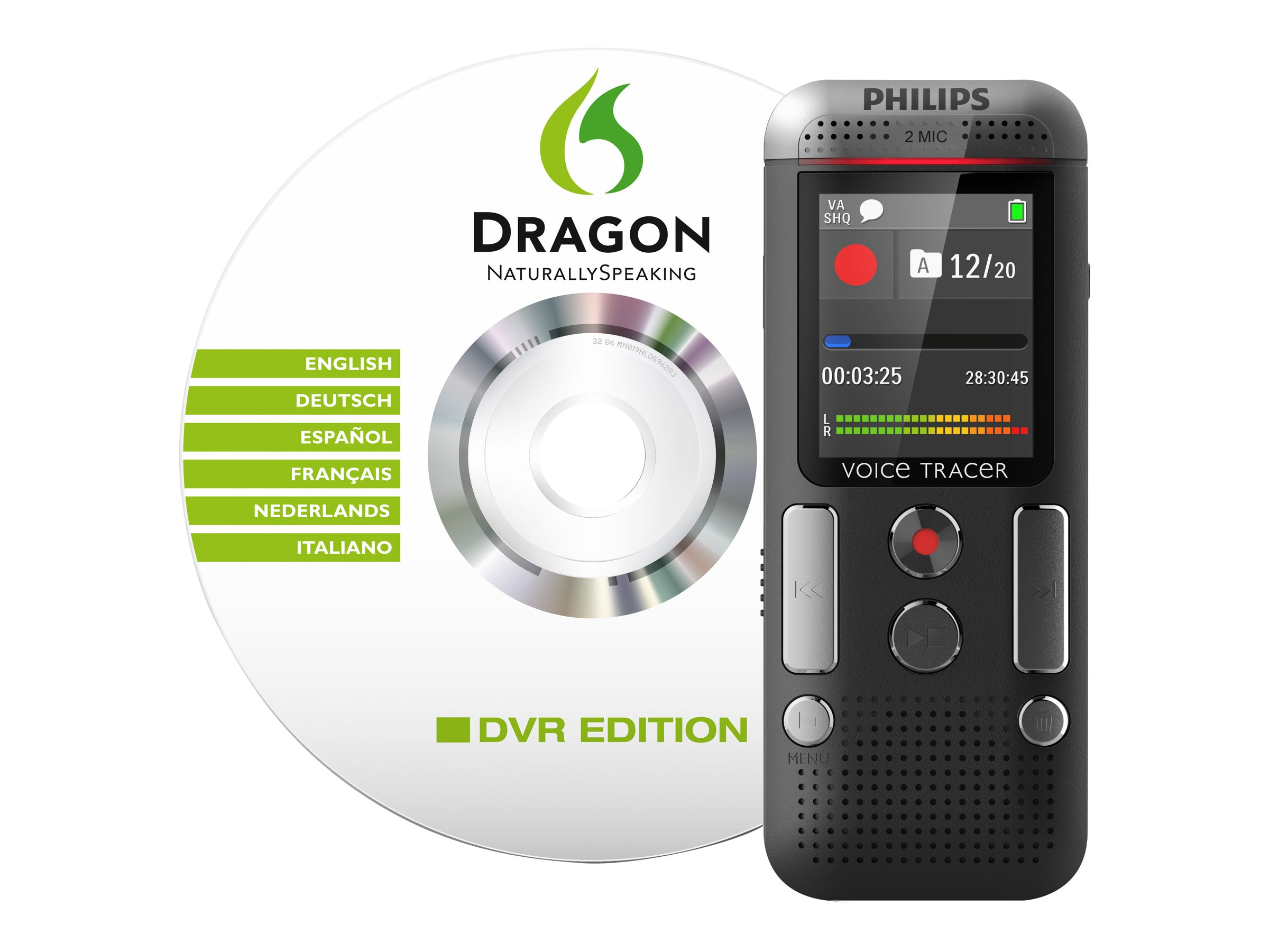 Philips Digital Voice Tracer 2700, DVT2700, 18203341, Voice Recorders & Accessories