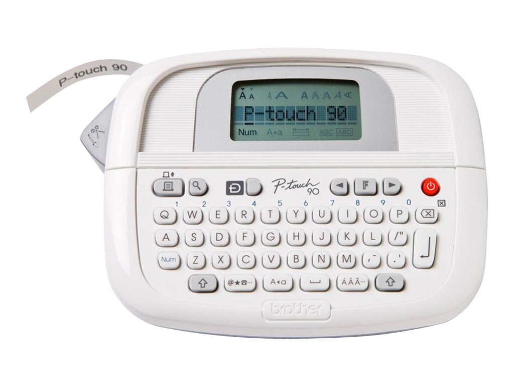 Brother PT-90 Personal Simply Stylish Labeler