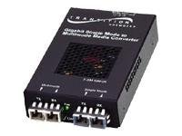 Transition Gigabit Ethernet Optical Mode Media Converter 1550TX 1310RX 40KM-NA 1.25 GBPS, SFMFF1329-223-NA, 15110173, Network Transceivers