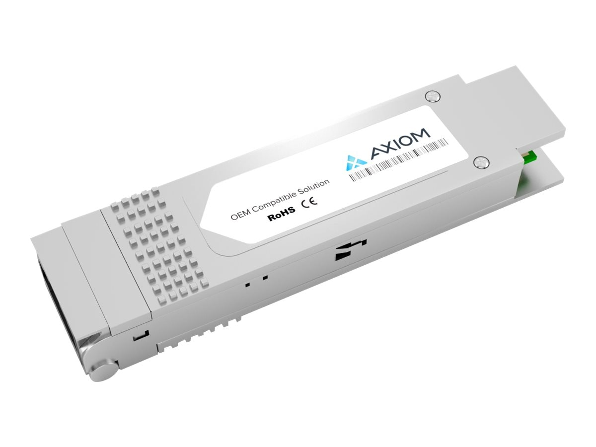 Axiom 40GBase-SR4 QSFP+ XCVR Transceiver for Intel, E40GQSFPSR-AX