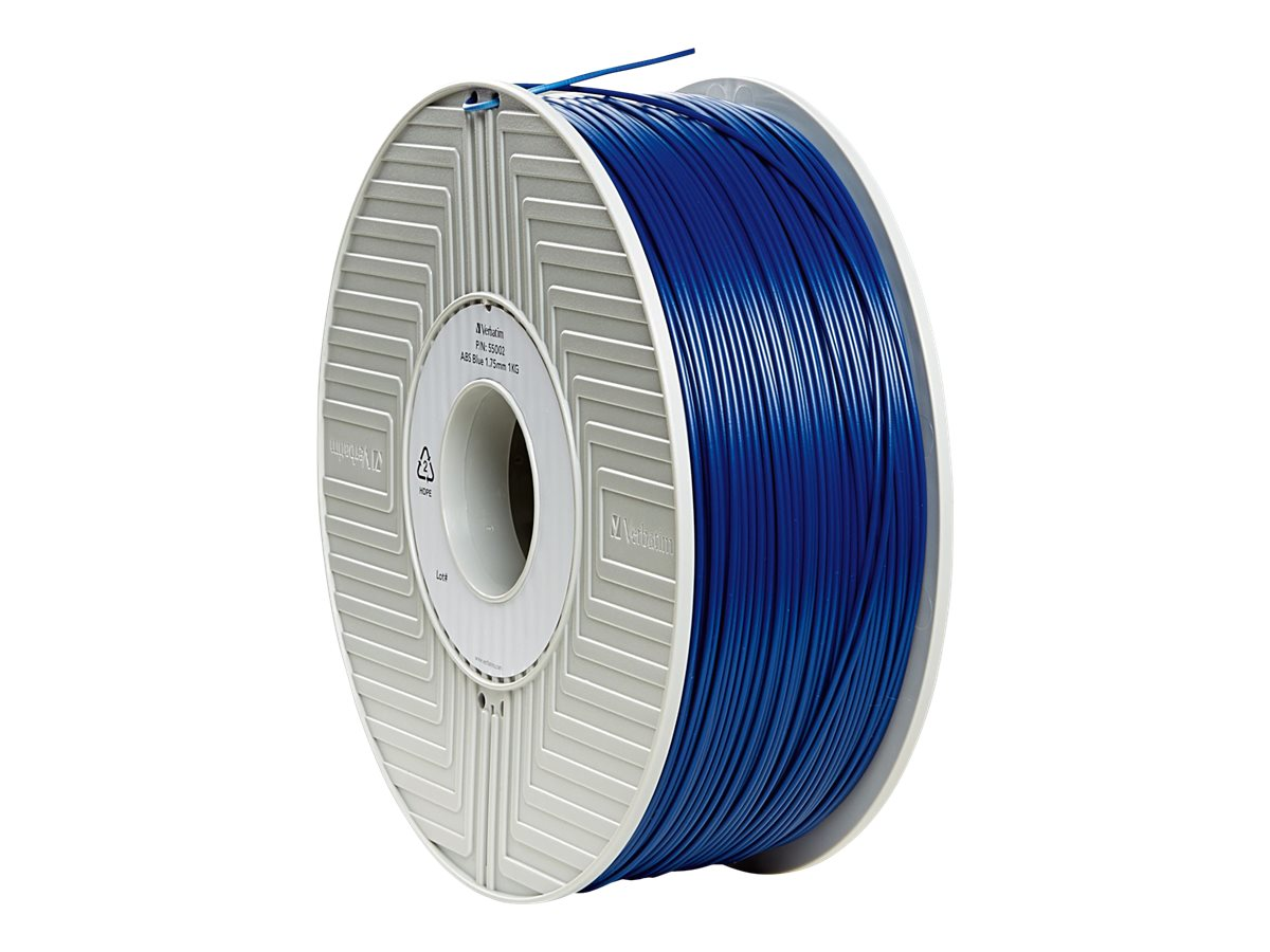 Verbatim Blue 1.75mm ABS 3D Filament 1KG Reel
