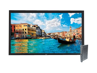 NEC 65 V652 Full HD LED-LCD Display, Black with Integrated Digital Media Player