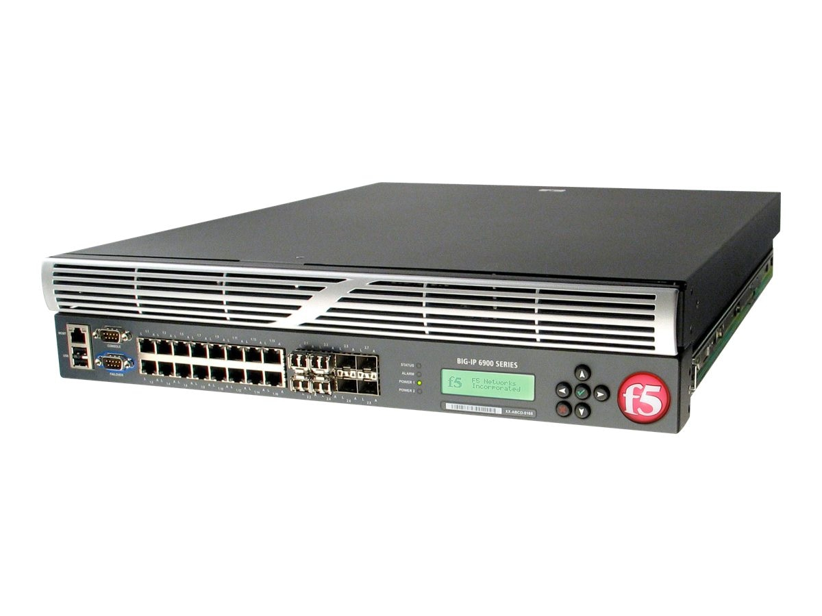 F5 Networking BIG-IP 6900 Local Traffic Manager, F5BIGLTM69008GR, 11892593, Network Server Appliances