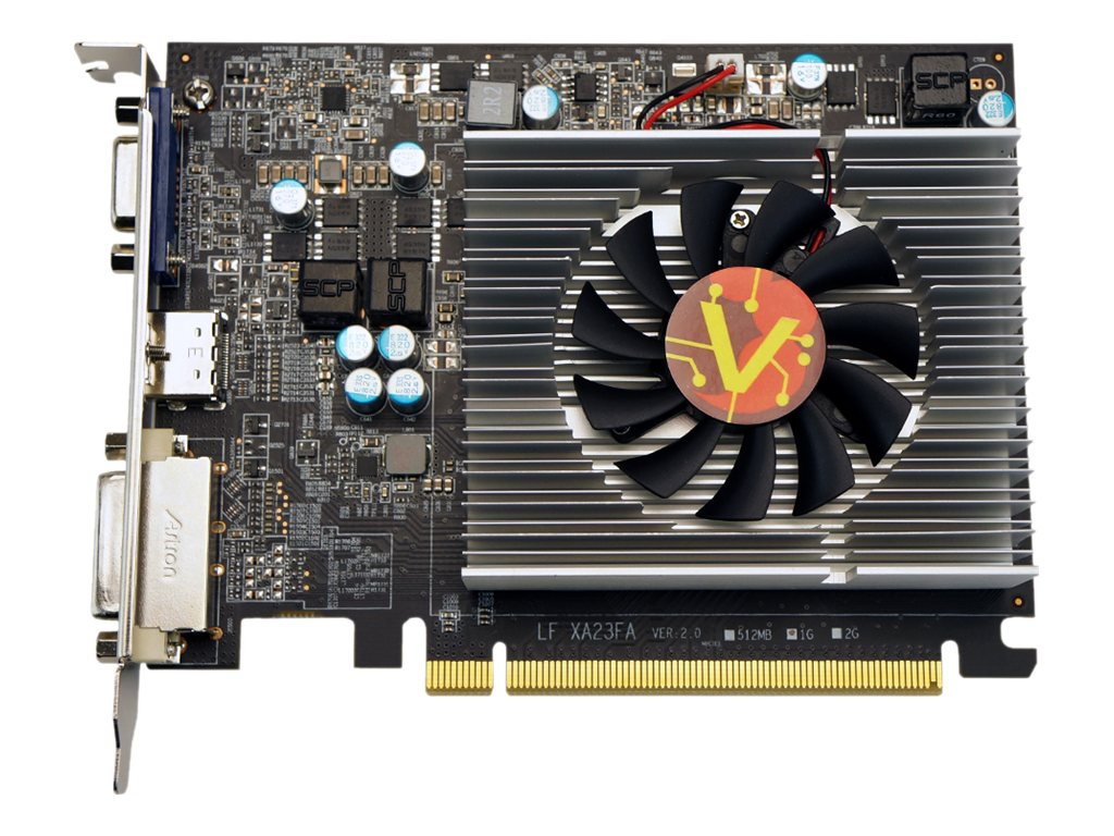 VisionTek Radeon R7 250 PCIe Low-Profile Graphics Card, 1GB GDDR5