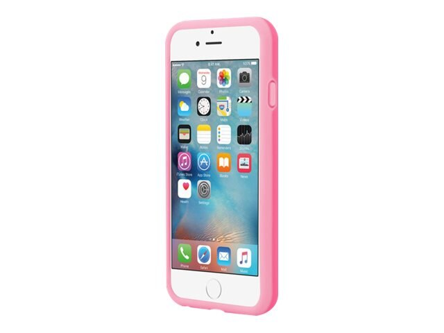 Incipio Stowaway Credit Card Case w  Kickstand for iPhone 6 6s, Pink Light Pink
