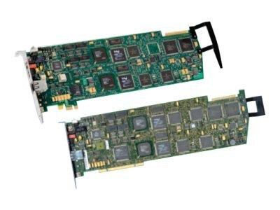 Dialogic D240JCT-T1-EW Voice Interface Card PCI Express 24-port