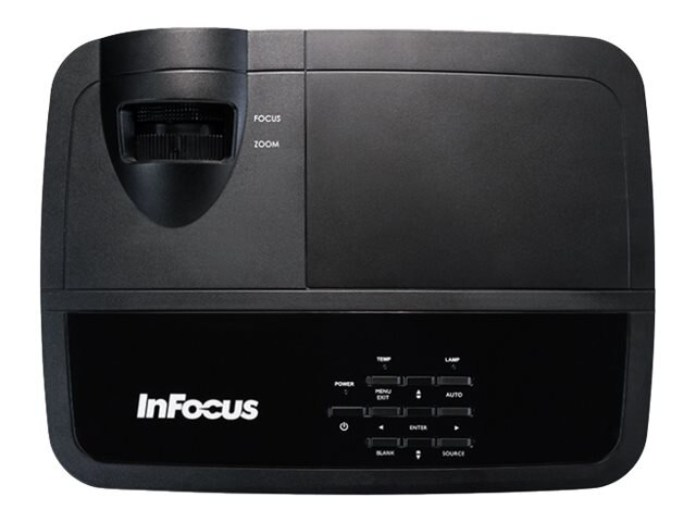InFocus IN2128HDx 1080p 3D DLP Projector, 4000 Lumens, Black, IN2128HDX