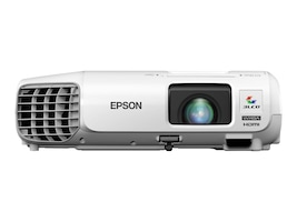 Epson PowerLite 99WH WXGA 3LCD Projector, 3000 Lumens, White, V11H686020, 18454238, Projectors
