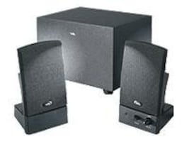 Cyber Acoustics Black 3-piece 2.1 Subwoofer System, CA-3001RB, 6164073, Speakers - Audio