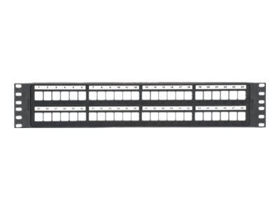 Panduit NetKey 48-Port 2U Modular Patch Panel, NKPP48P