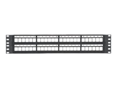 Panduit NetKey 48-Port 2U Modular Patch Panel