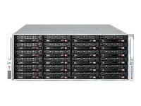 Supermicro Chassis, SuperChassis 847E26 4U RM (2x)Intel AMD Family Max.36x3.5 HS Bays 7xPCIe 2x1280W