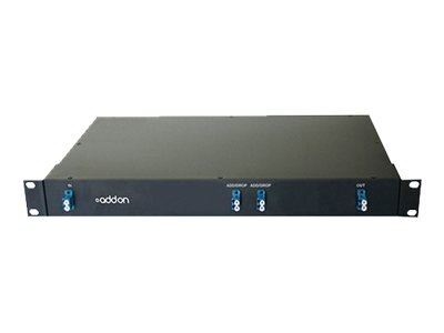 ACP-EP 2-Channel Optical Add Drop Mux CWDM LC 1530.33NM to 1560.61NM 19in Rack