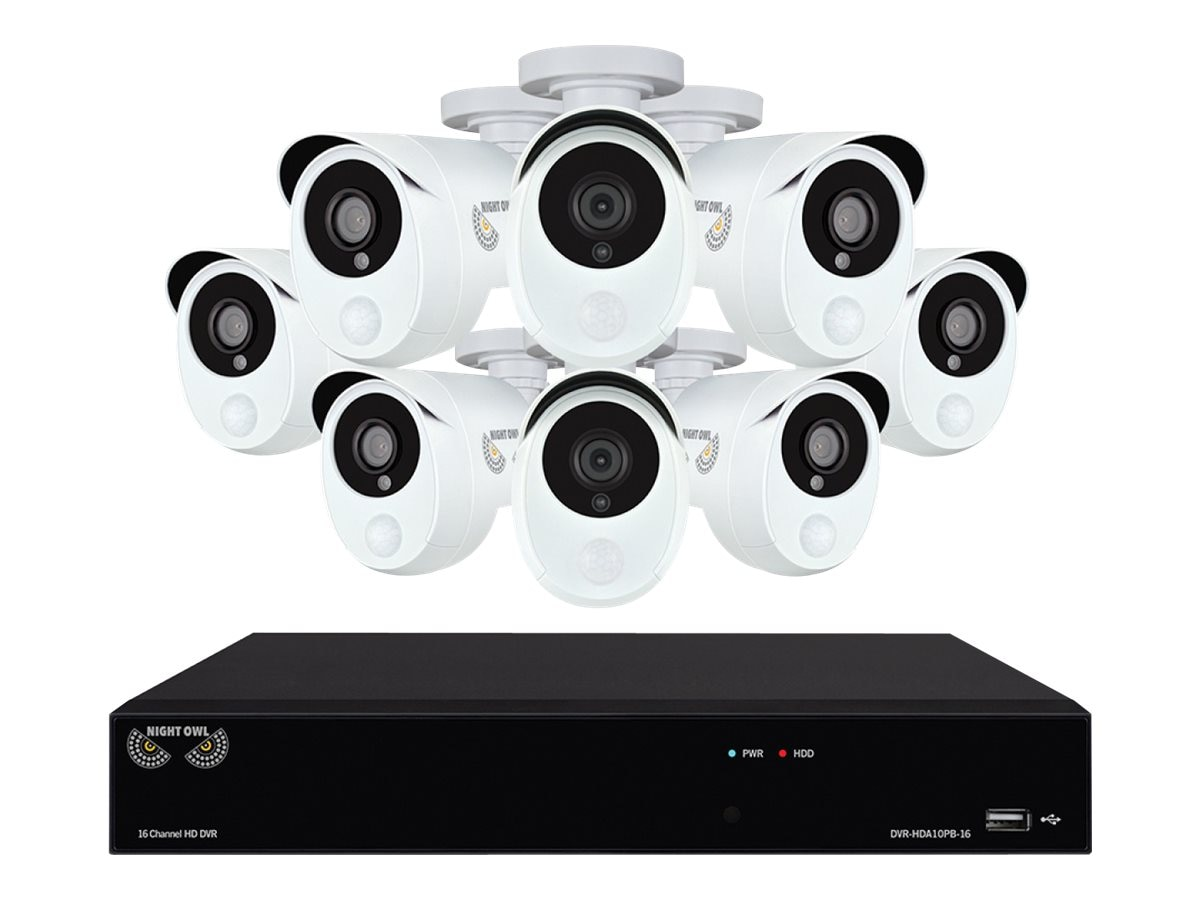 Night Owl 16-Channel Security Video DVR 2TB