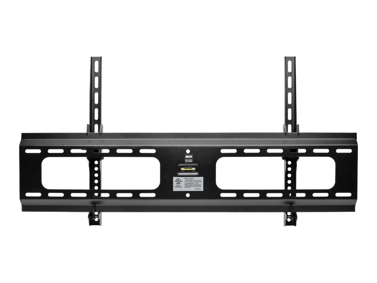 Tripp Lite Heavy-Duty Tilt Wall Mount for 37 to 80 TVs and Monitors, Flat or Curved Screens, UL Certified, DWT3780XUL