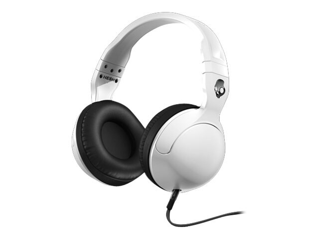 Skullcandy Hesh 2 Headphones - White Black Gun Metal, S6HSGY-378, 23836775, Headsets (w/ microphone)